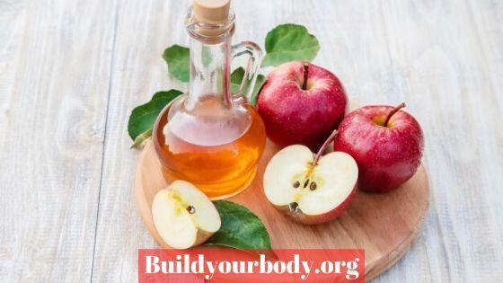 Apple vinegar to whiten the skin