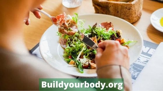 Eat healthy food for a perfect body