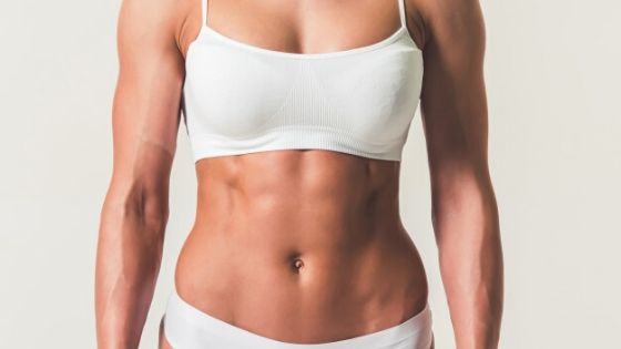 get a flat stomach and you will be more aesthetic