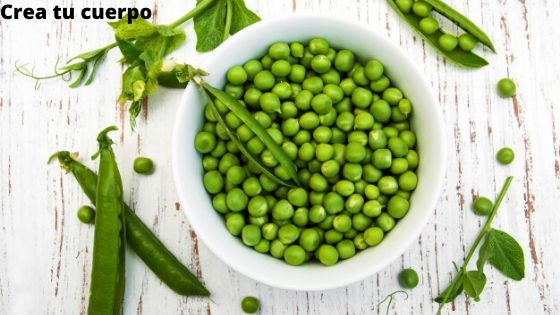 Peas, food with exceptional nutritional properties