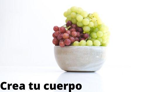 Eat grapes, fiber, and glucose.