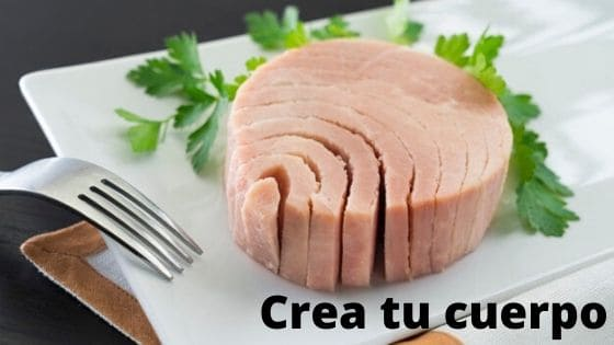 Natural tuna, source of proteins and omega 3