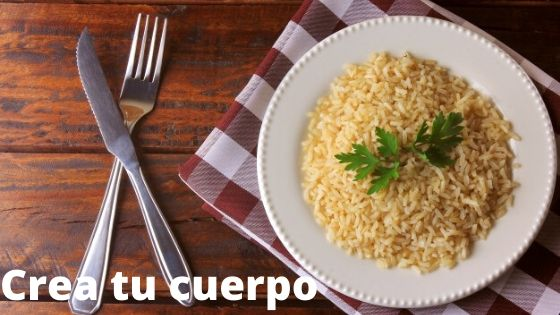 brown rice, one of the foods with the most fiber