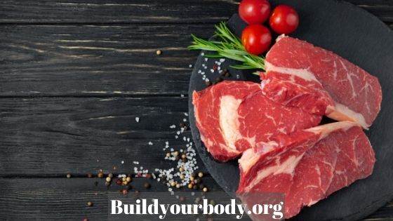 Red meat has many properties for the skin