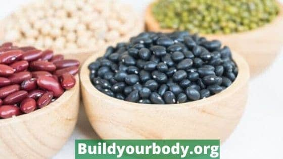 beans, a great vegan protein source