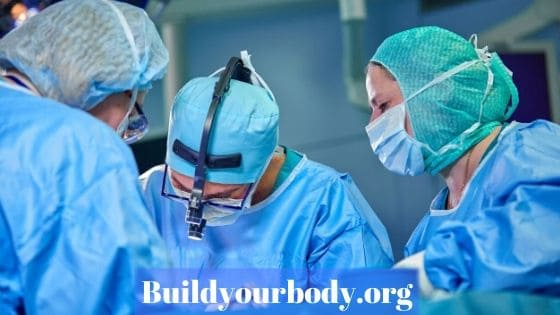 Surgery in breast augmentation