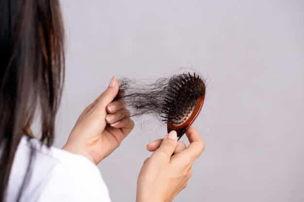 hair fall in women