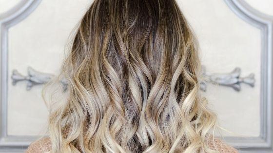 balayage dark blonde hair
