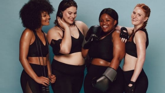 How many types of female body shapes are there?