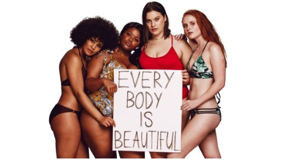 Different types of female bodies