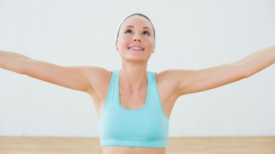 how to fix saggy arms