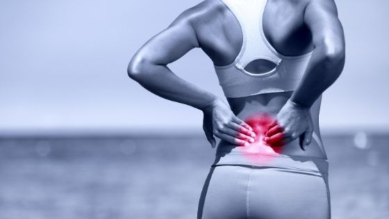 What are the two main types of pain?