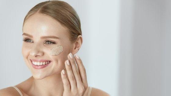 Five benefits of skin exfoliation