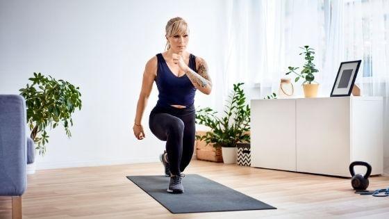 Exercises at home that burn more calories