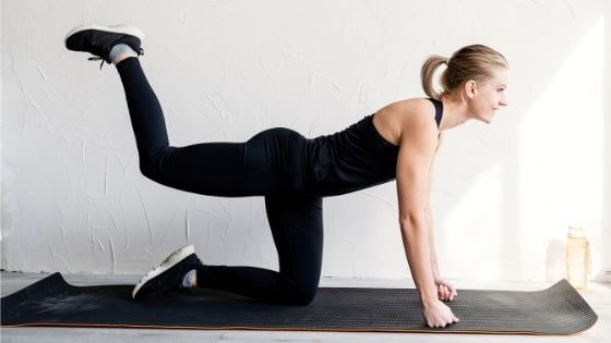 Exercises to lift your buttocks