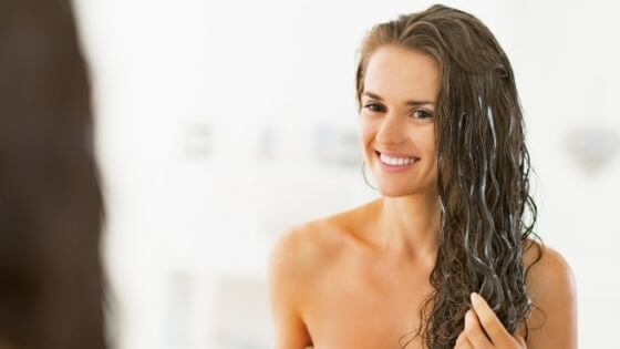 Treatments for frizz in hair