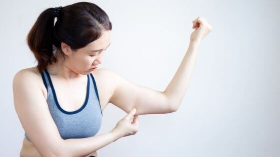 How to lose arm fat fast for females