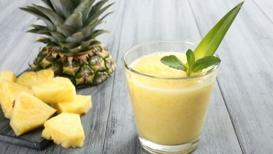 Why Pineapple Juice Can Treat Acne, Sun Damage, and Skin Tone?