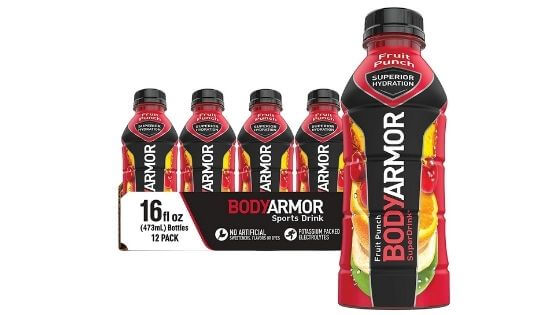Is Body Armor good for you?