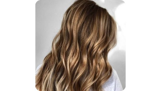 brown hair with dirty blonde highlights