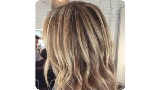 light blonde dirty hair