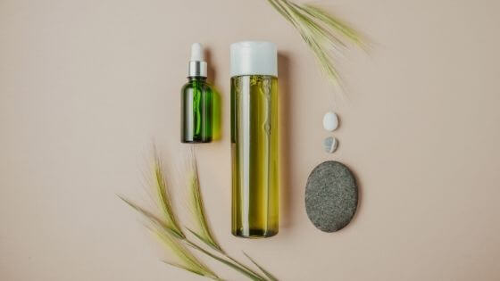Can you put body oil on your face?