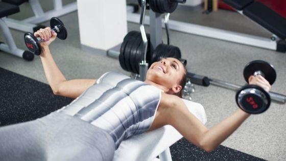 dumbbell chest fly, the best chest exercises