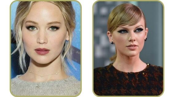 celebrities with  Hooded Eyes