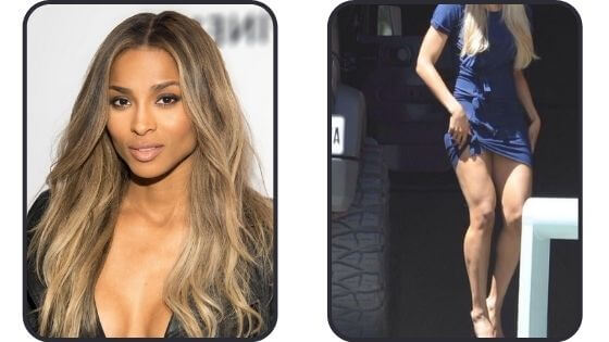 Ciara's sexy legs