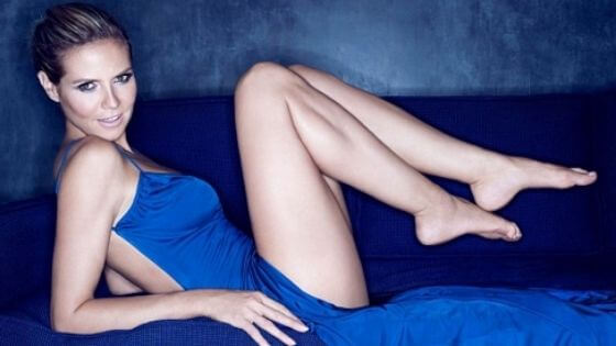 Heidi's sexy legs